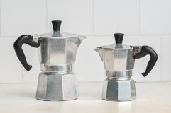 Italian coffee maker Royalty Free Stock Photos