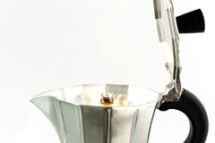 Italian coffee maker Stock Images