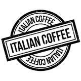 Italian coffee rubber stamp Stock Photo