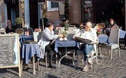 Italian coffee and tea bar Royalty Free Stock Image