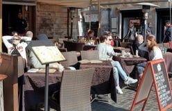Italian coffee and tea bar Royalty Free Stock Photo