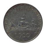 Italian coin Stock Photos