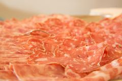 Italian cold cuts Stock Photo