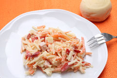 Italian coleslaw-insalata capricciosa Royalty Free Stock Photo