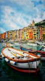 Italian color`s harbor royalty free stock images