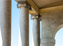 Italian columns Royalty Free Stock Images