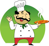 Italian cook Royalty Free Stock Image