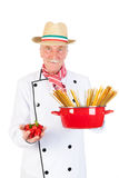 Italian cook Royalty Free Stock Images