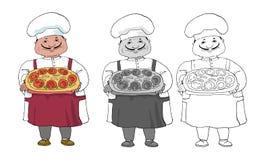 Italian cook Stock Photos