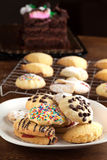 Italian Cookie Varieties Royalty Free Stock Photography