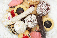 Italian cookies royalty free stock image