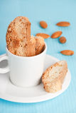 Italian cookies - biscotti Stock Images