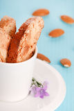 Italian cookies - biscotti Royalty Free Stock Photos