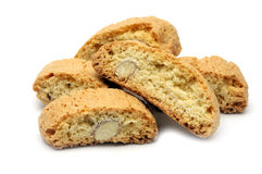 Italian cookies - cantucci Royalty Free Stock Photos