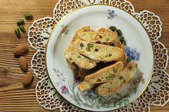 Italian cookies Royalty Free Stock Image