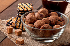 Italian cookies Florentino Royalty Free Stock Photography
