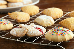 Italian Cookies Variety Royalty Free Stock Images