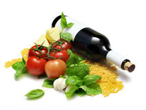 Italian Cooking Stock Images