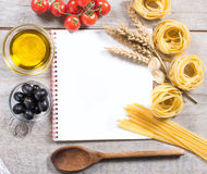 Italian cooking Stock Photos