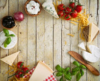 Italian cooking Stock Image