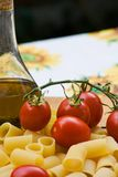 Italian Cooking Ingredients Stock Photo