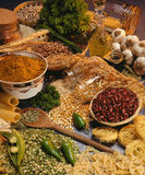 Italian Cooking - Pasta, Beans And Pulses Stock Photo