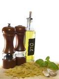 Italian Cooking Sampler Stock Photo