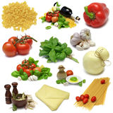 Italian Cooking Sampler Royalty Free Stock Photography