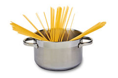Italian Cooking Spaghetti Royalty Free Stock Photo