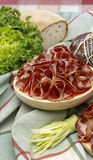 Italian coppa Royalty Free Stock Photography