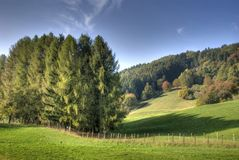 Italian country landscape Stock Photography