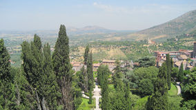 Italian country landscape view Royalty Free Stock Photos