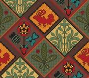 Italian Country Tile Pattern Stock Photos