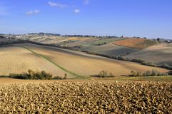 Italian countryside Royalty Free Stock Photo