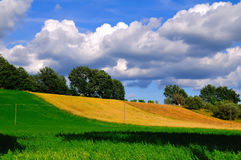 Italian Countryside Stock Photography