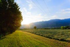 Italian countryside landscape Stock Photos