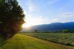 Italian countryside landscape Stock Photo