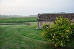 Italian countryside - Farmland by Mantova Royalty Free Stock Images