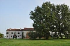 Italian countryside - the Po plain by Mantova Royalty Free Stock Photography