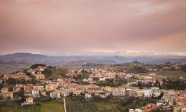 Italian countryside, rural landscape Stock Image