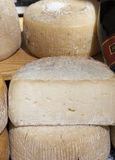 Italian crafts cheeses Royalty Free Stock Photos