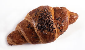 Italian croissant for breakfast Royalty Free Stock Photo