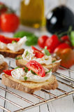 Italian crostini Stock Photo
