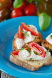 Italian crostini Royalty Free Stock Photography