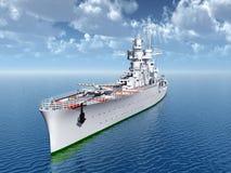Italian cruiser of World War II Stock Image