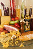 Italian cuisine Royalty Free Stock Photography
