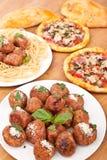 Italian Cuisine Classics Stock Photography