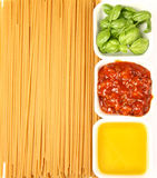 Italian cuisine ingredients Stock Photo