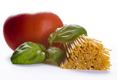 Italian cuisine ingredients Stock Image