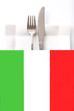 Italian cuisine \Restaurant menu Royalty Free Stock Photos